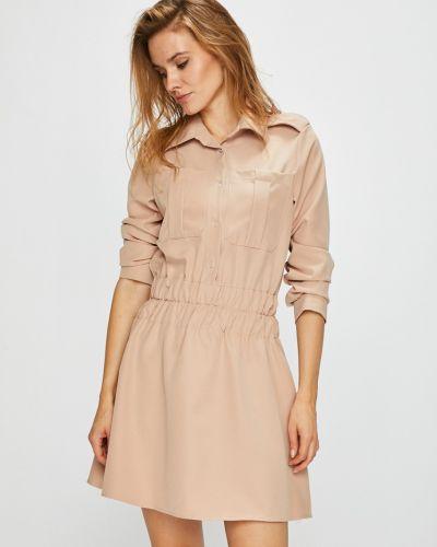 Платье мини с поясом с карманами Naoko