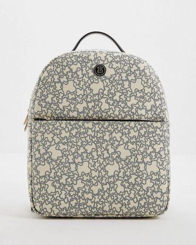 Кожаный рюкзак - бежевый Tous