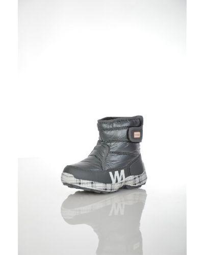 Зимние ботинки кожаные с мехом Patrol