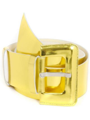 Pasek z paskiem - żółty Aniye By