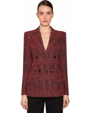 Пиджак твидовый двубортный Givenchy