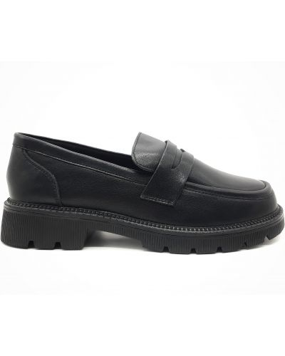 Кожаные туфли - черные Yalasou