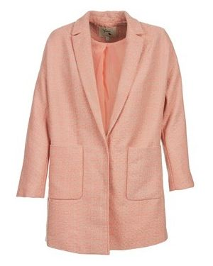 Różowy płaszcz przeciwdeszczowy Yumi