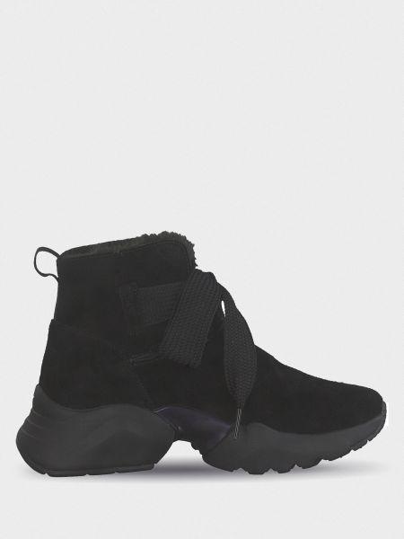 Кожаные ботинки - черные Tamaris