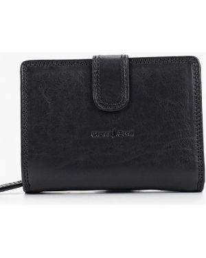 Кожаный кошелек - синий Gianni Conti