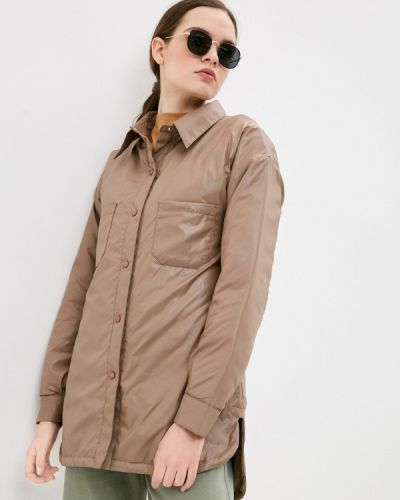 Утепленная куртка - коричневая Leotex