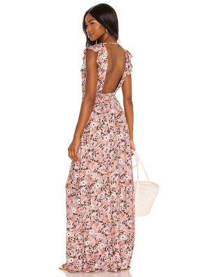 Платье макси длинное - розовое Maaji
