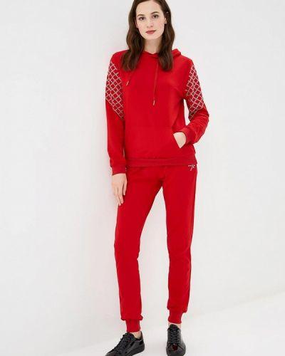 Красный спортивный костюм Flam Mode