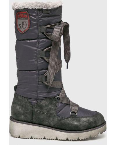 Зимние ботинки зимние теплые S.oliver
