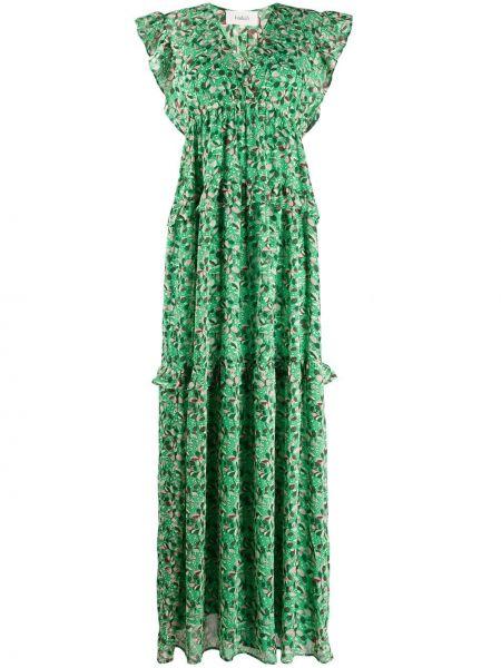 Sukienka dla wysokich kobiet zielona Ba&sh