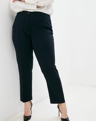 Синие классические брюки Persona By Marina Rinaldi
