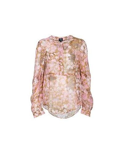 Розовая блузка вечерняя Mcq