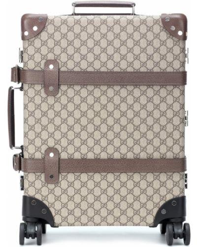 Чемодан кожаный Gucci