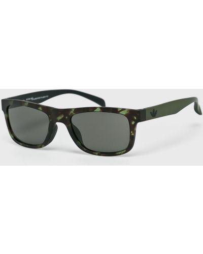 Солнцезащитные очки зеленый Adidas Originals