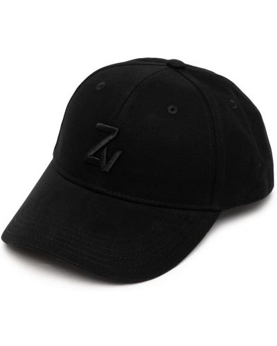 Czarna czapka z daszkiem Zadig&voltaire