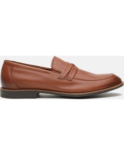 Туфли на каблуке - коричневые Rovigo
