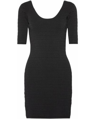 Открытое черное платье мини с открытой спиной Elizabeth And James