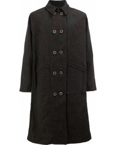 Черное длинное пальто Individual Sentiments