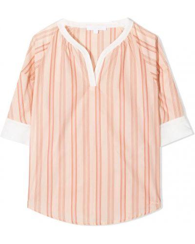 Pomarańczowa koszula Chloe