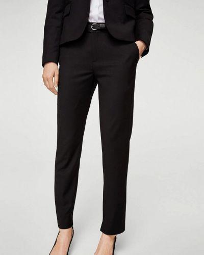 Черные классические брюки Mango
