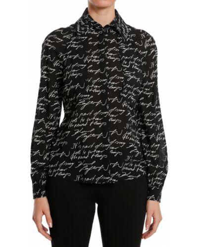 Черная блузка Karl Lagerfeld