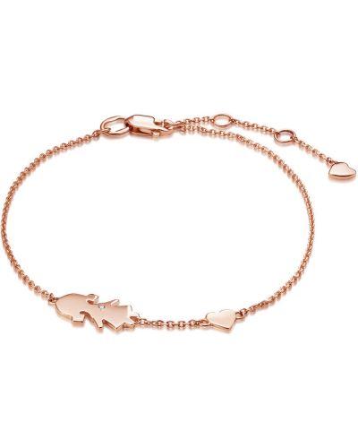 Золотой браслет с камнями золотой Vesna Jewelry