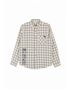 Рубашка бежевый Coccodrillo