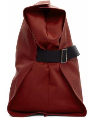 С ремешком парусиновый черный рюкзак на бретелях 132 5. Issey Miyake