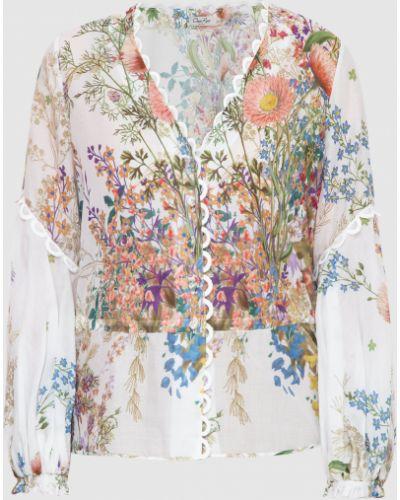 Белая блузка Charo Ruiz