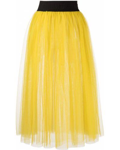 Юбка из фатина - желтая Marchesa Notte
