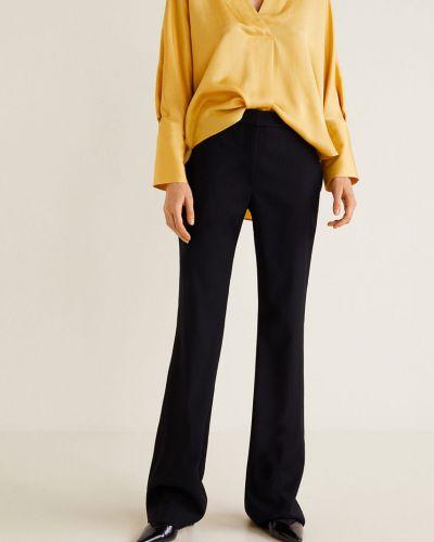 Свободные брюки с карманами шерстяные Mango