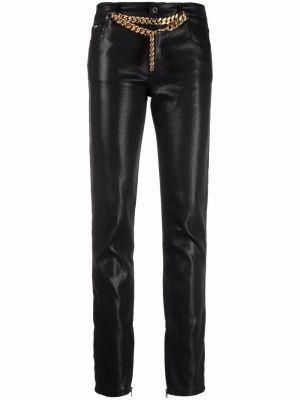 Черные брюки с накладными карманами Tom Ford