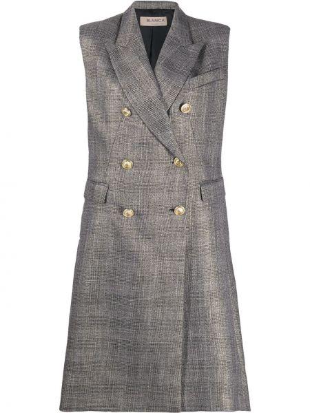 Удлиненный пиджак с карманами Blanca