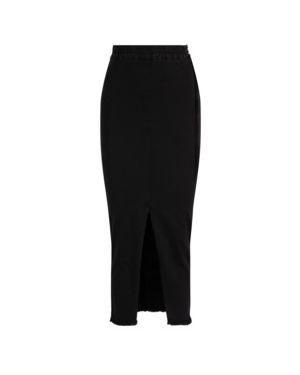 Czarna spódnica jeansowa bawełniana Patrizia Pepe