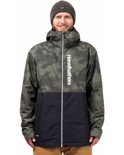 Куртка горнолыжная камуфляжная сноубордический Horsefeathers®