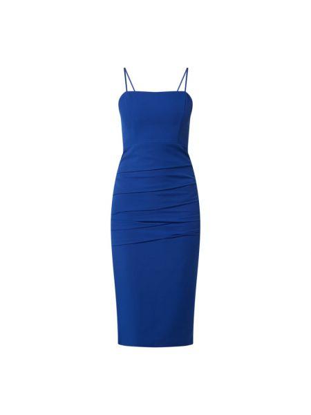 Sukienka - niebieska Bardot
