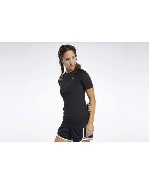 T-shirt - czarna Reebok