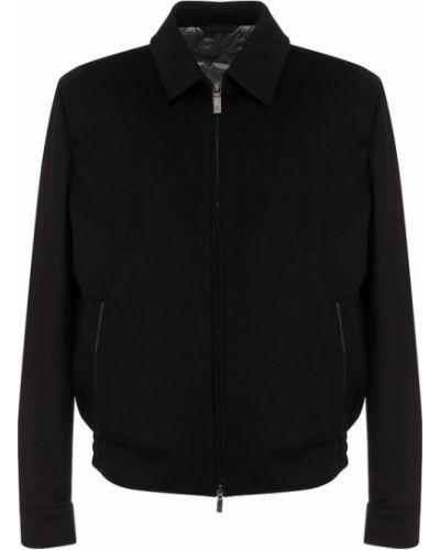 Черная куртка Brioni