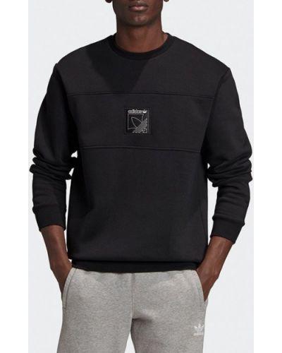 Спортивный черный свитшот Adidas Originals