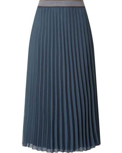 Spódnica rozkloszowana z szyfonu turkusowa Betty & Co White