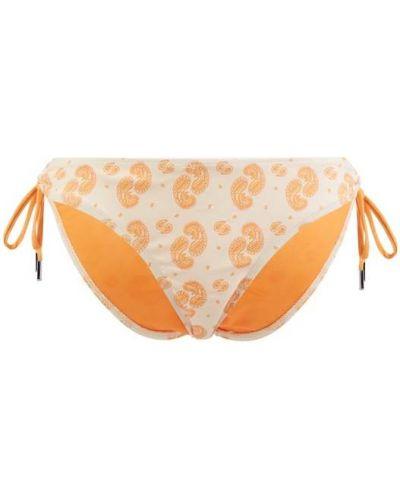 Pomarańczowy bikini Becksöndergaard