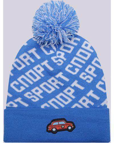 Голубая шапка бини Запорожец Heritage