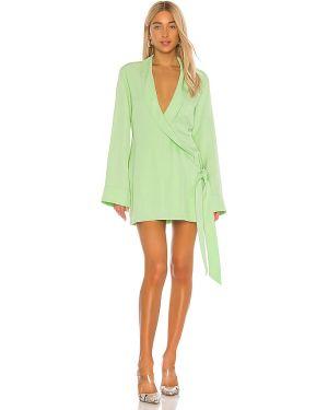Sukienka mini dżinsowa zielona L'academie