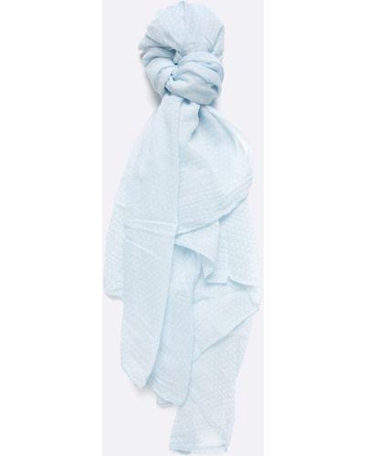 Голубой шарф с узором Answear