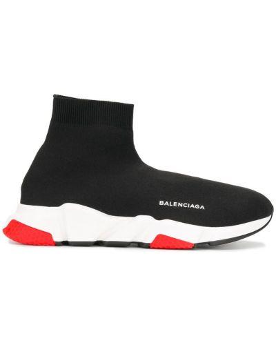 Кроссовки резиновые с логотипом Balenciaga