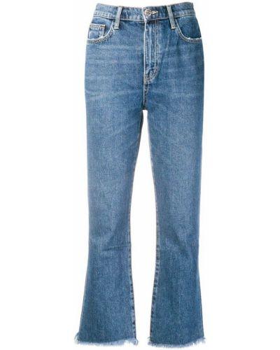 Расклешенные джинсы на пуговицах с карманами Current/elliott