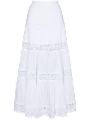 Biała spódnica bawełniana Charo Ruiz Ibiza