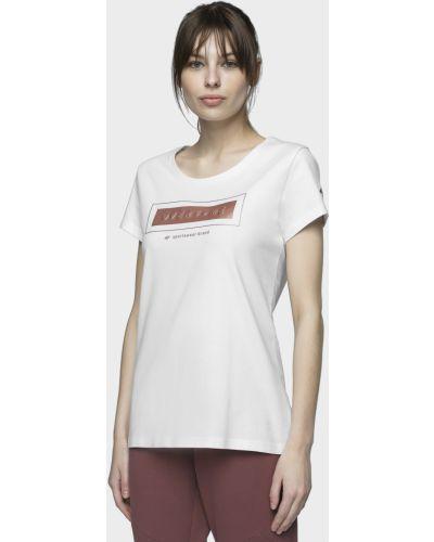 Белая футболка 4f