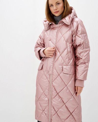 Зимняя куртка осенняя розовая Silvian Heach