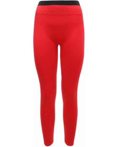 Облегающие леггинсы - красные Reebok X Victoria Beckham